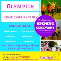 JumpStart Olympics Experience Day