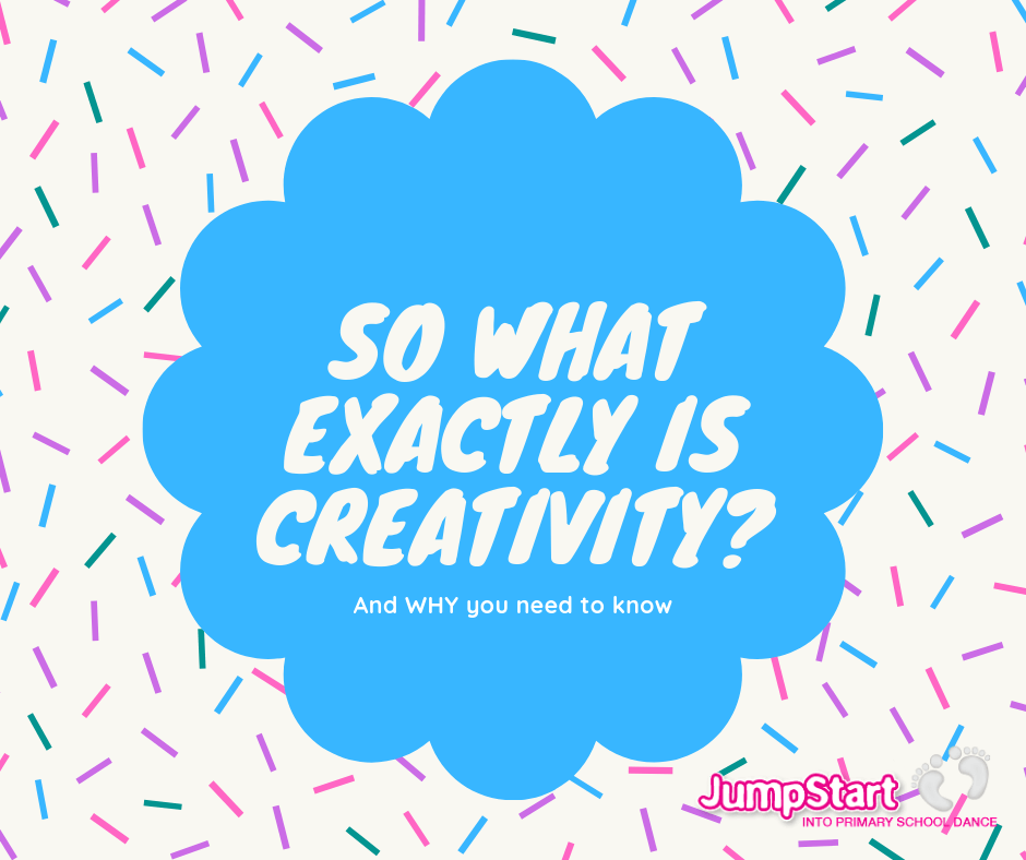 So What Exactly Is Creativity?