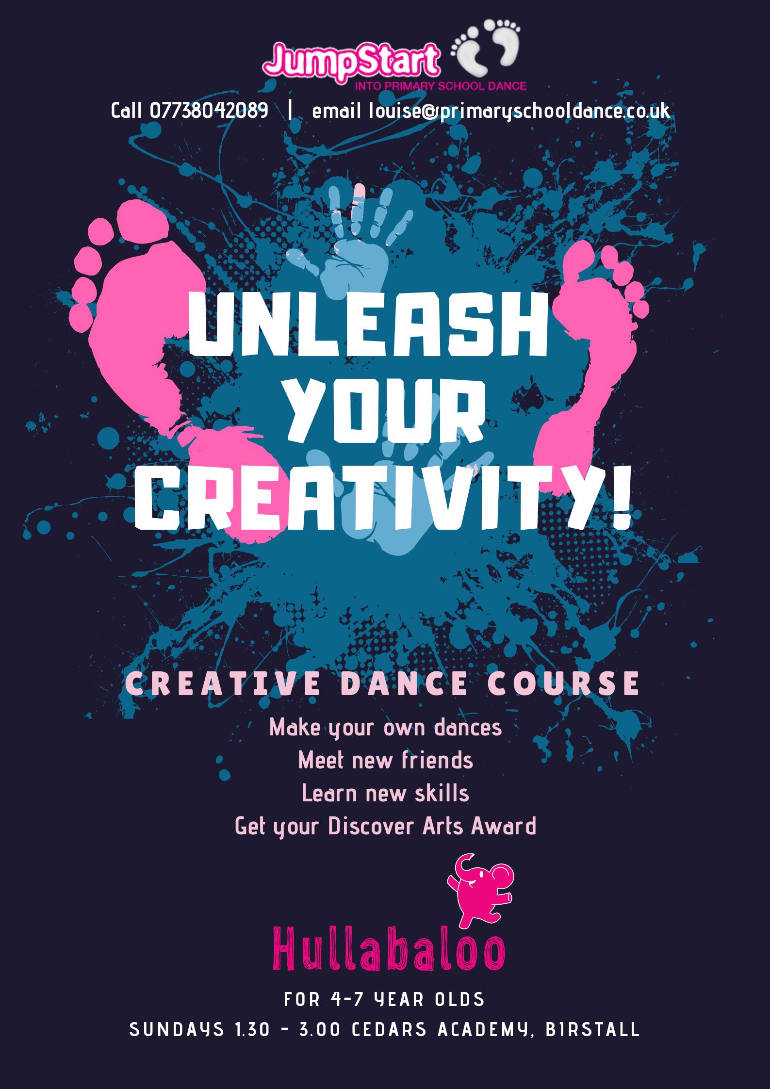 Hullabaloo Dance Course