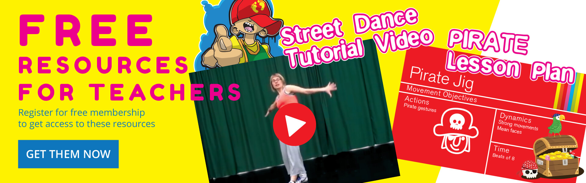 primary school dance resources
